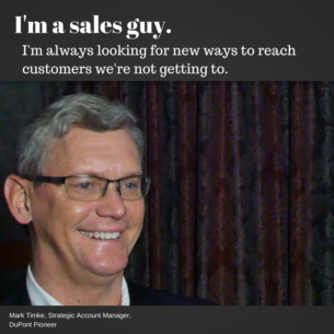 I'm a sales guy.
